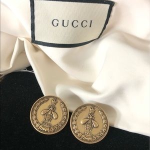 GUCCI Queen Bee Antique Gold